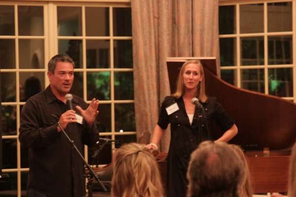 Art House Dallas leadership: Brad Reeves and Jenny White.