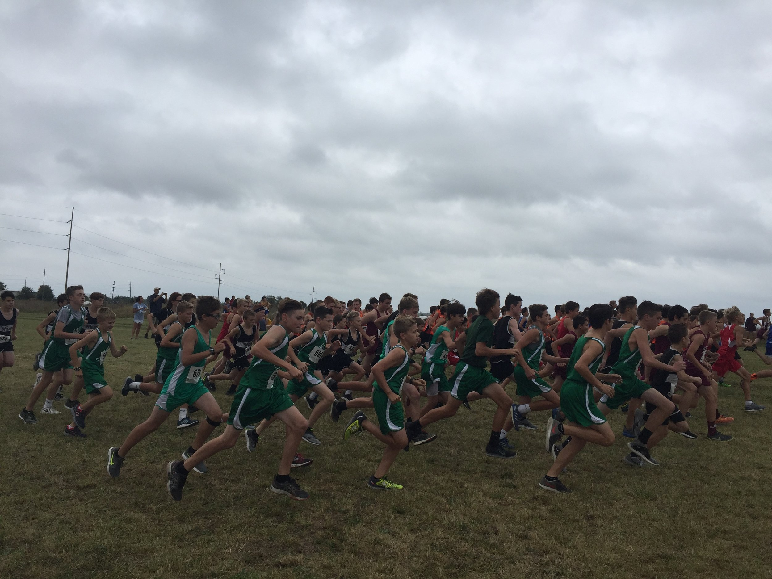 Springfield Underground is the annual site for the Irish Invitational Junior High and High School Cross Country meet.