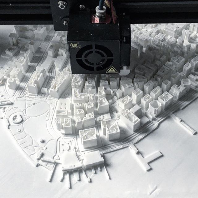 #sneakpeek at the #Manhattan Series, coming soon to the website!  Starting at the Financial District, this series will stretch up to Hudson Yards and onward to Central Park while featuring all the great Architecture along the way.  #architecture #newyork #manhattan #designer #design #makersgonnamake #maker #3dprinting #3d #homedecor