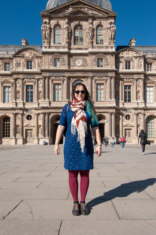 Isabel Uria in Paris