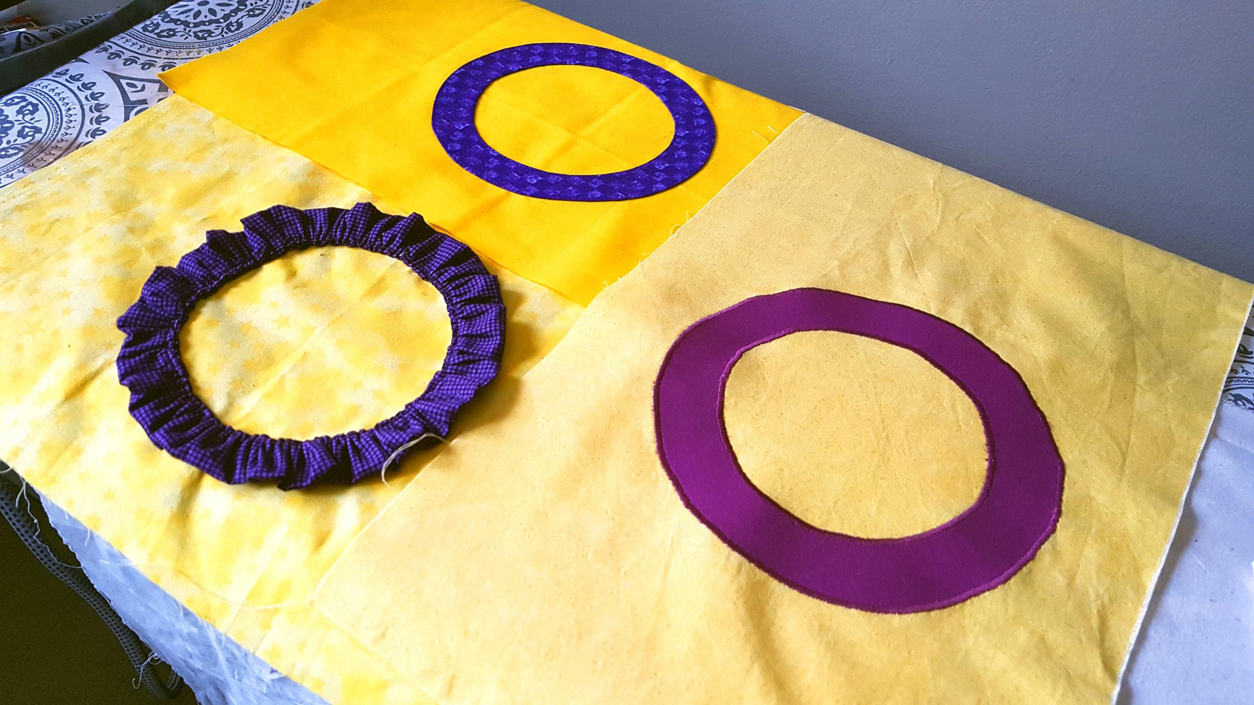 Intersex flag samples
