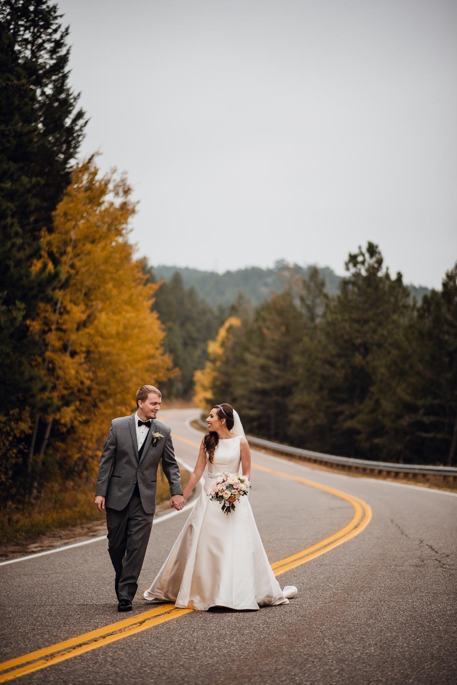 Candice Rawlin Wedding PHOCO Photography Pines Genesee Golden Colorado Fog -12.jpg