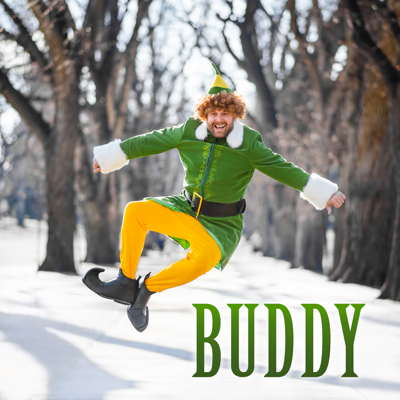 PHOCO Christmas Card Colorado Fort Collins Photographer CSU Oval Buddy the Elf.jpg