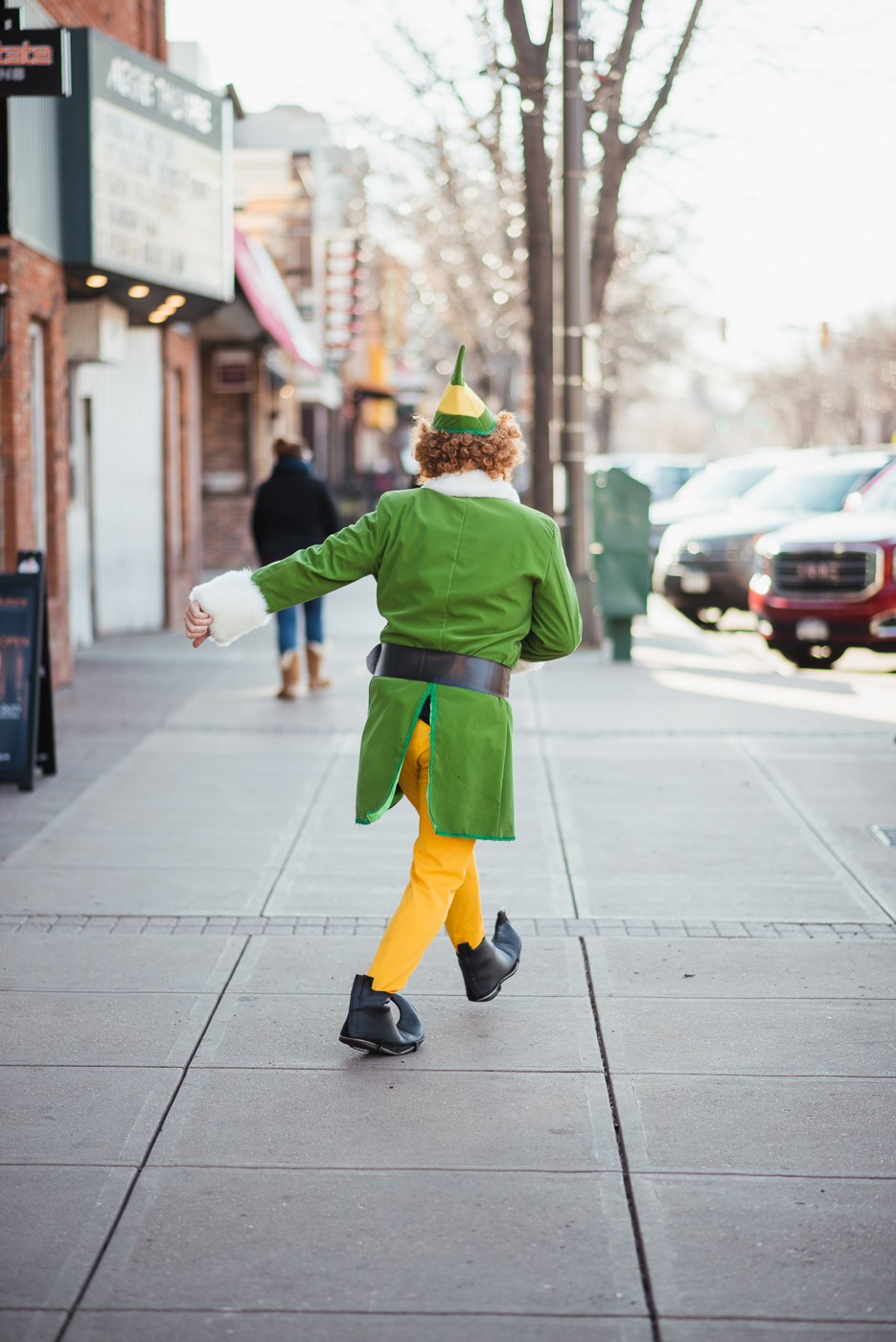 PHOCO Christmas Card Colorado Old Town Fort Collins Photographer Buddy the Elf BTS-6.jpg