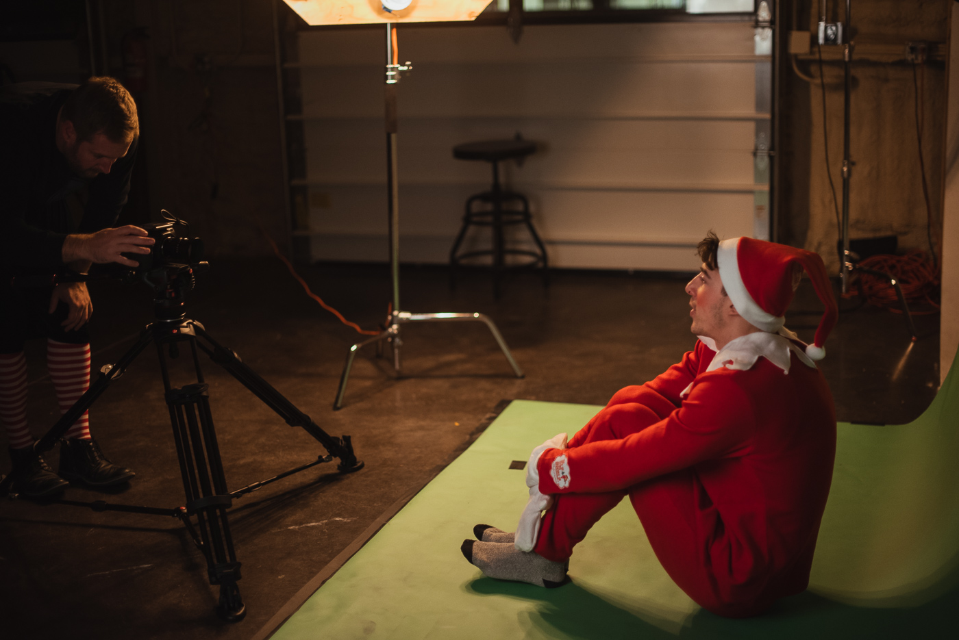 PHOCO Christmas Card The Articulate Photo Studio Green Screen Colorado Fort Collins Photographer Elf on the Shelf BTS-4.jpg