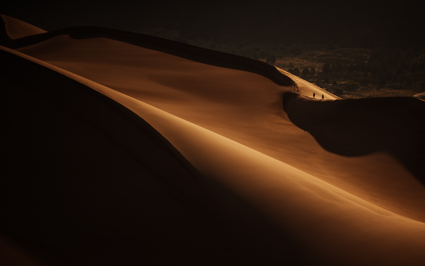 PHOCO Best of 2018 Photograph Fort Collins-33 Sand Dunes Shadows Dark Silhouette Hikers.jpg
