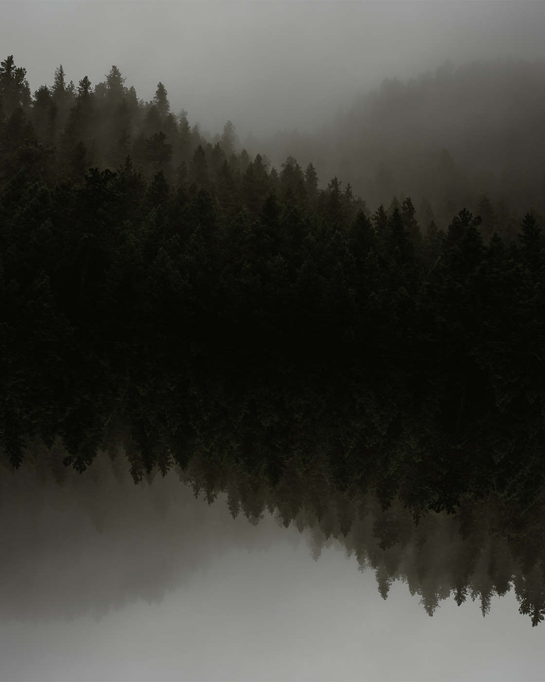 PHOCO Best of 2018 Photograph Fort Collins-48 Foggy Mountains Colorado Moody Reflection Photoshop.jpg