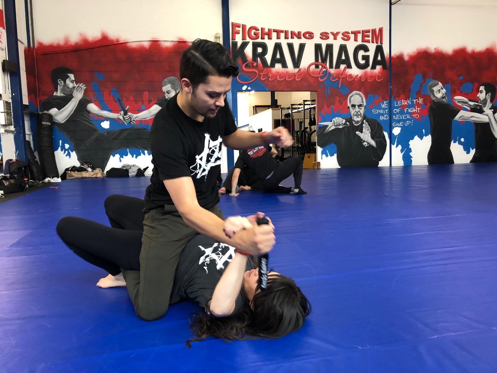 Chief Instructor of Shaan Saar Gabriel Mora and Co-Owner, Instructor Reneé Rose