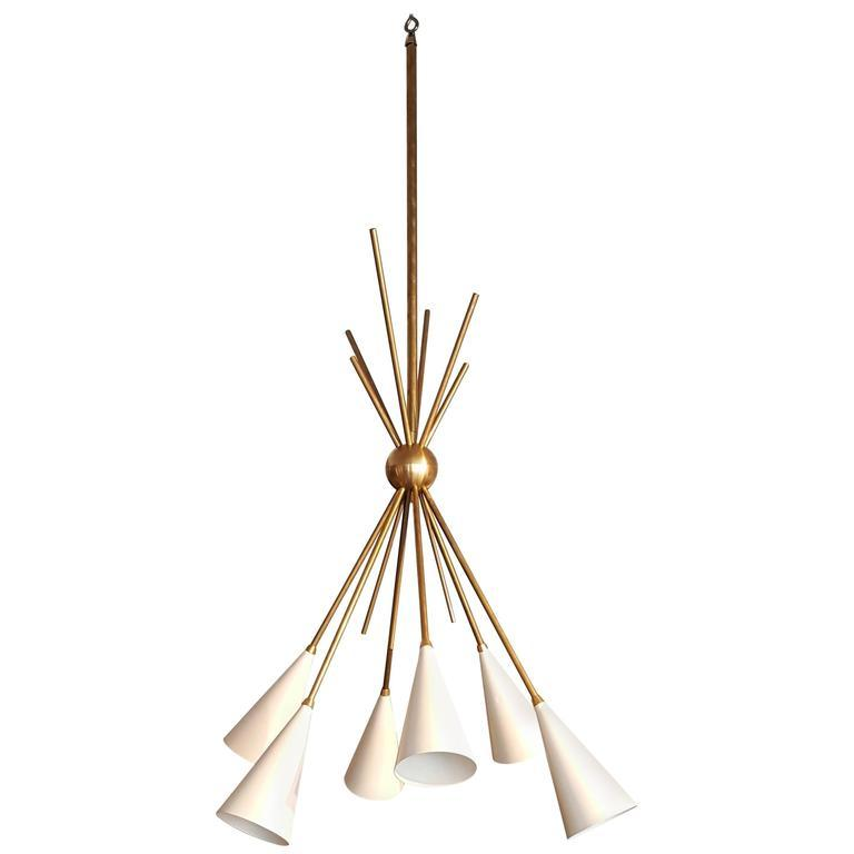 Bouquet - $3900.00As Shown: Natural Brass & Perfect White