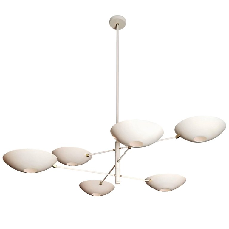 Counterbalance - $5500.00As Shown: Stark White disks and Body. Enameled body is an up charge to the displayed price.