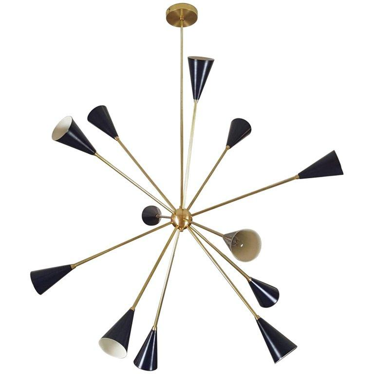 Spore - $2950.00As Shown: Midnight & Natural Brass