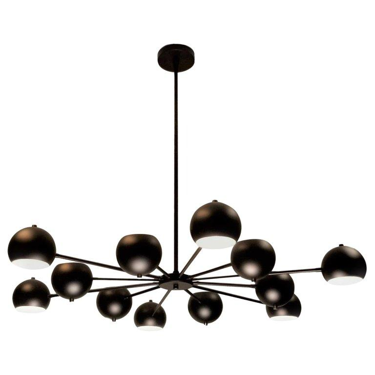 Supernova - $3695.00As Shown: Matte Black EnamelAvailable in any metal or enamel finish
