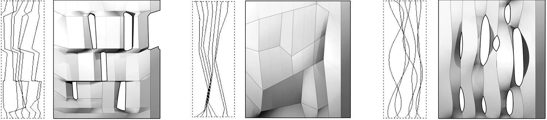 Variations based on input curves