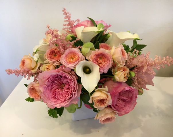 Pink and White Floral Arrangment