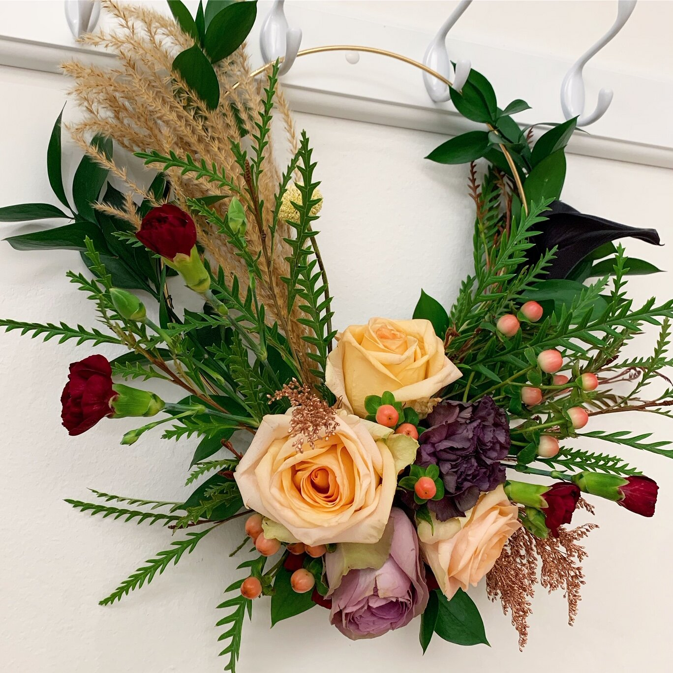 Fresh Fall Floral Wreaths Seasonal Floral Class Aranj Learn