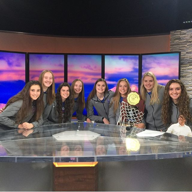 Congratulations to our Varsity Basketball team on their state championship win!  Seen here featured  on 9news this weekend. #CreekBasketball #cherrycreekbruins  #cchsptco
