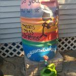 Help paint a rain barrel for Greenlight New Orelans