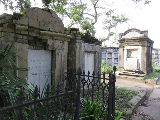 Plastered masonry tombs are particularly subject to moisture related damage