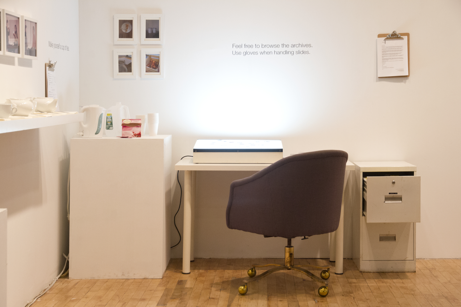 Installation View: Archive