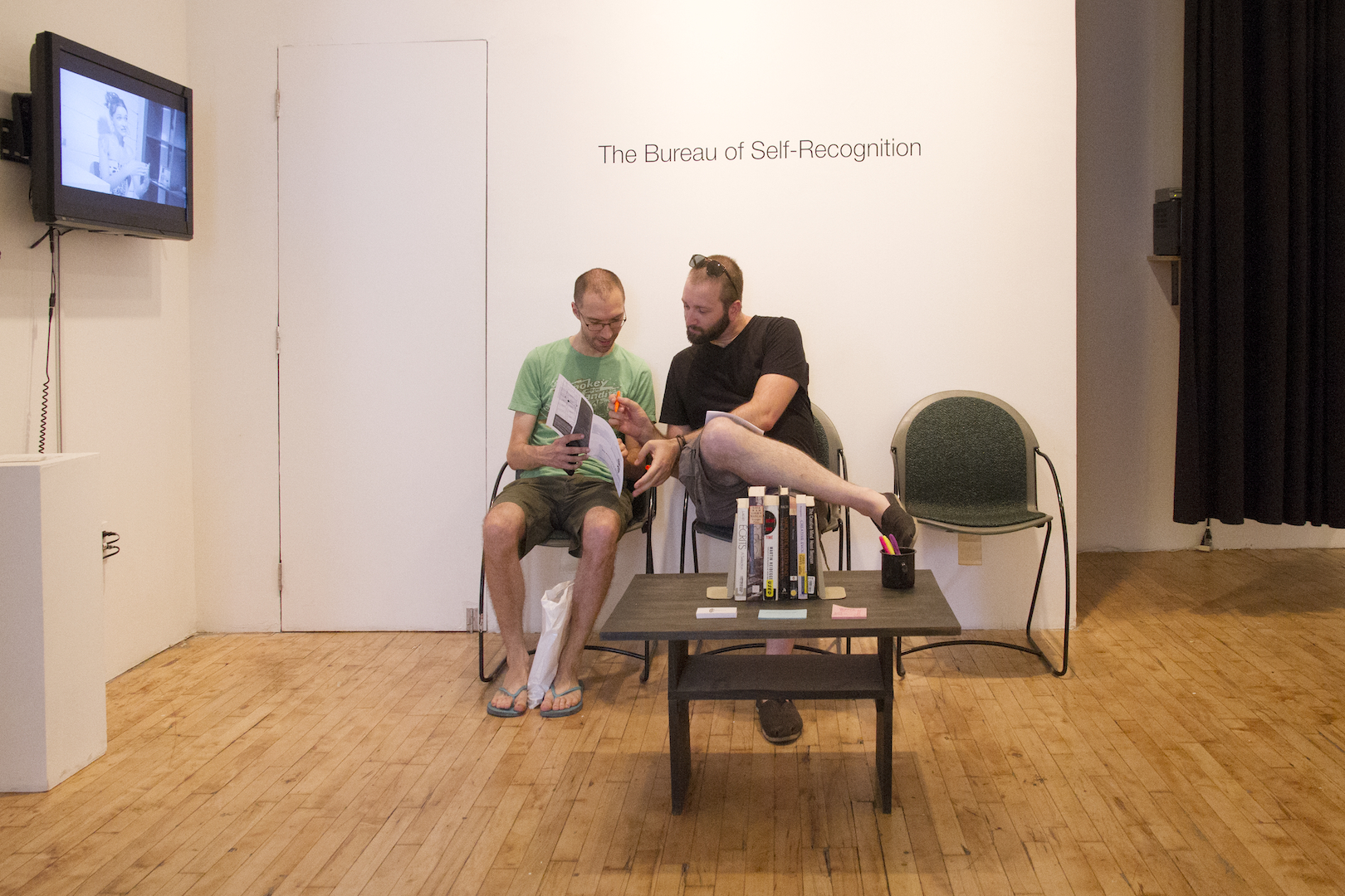 Installation View: Waiting Room