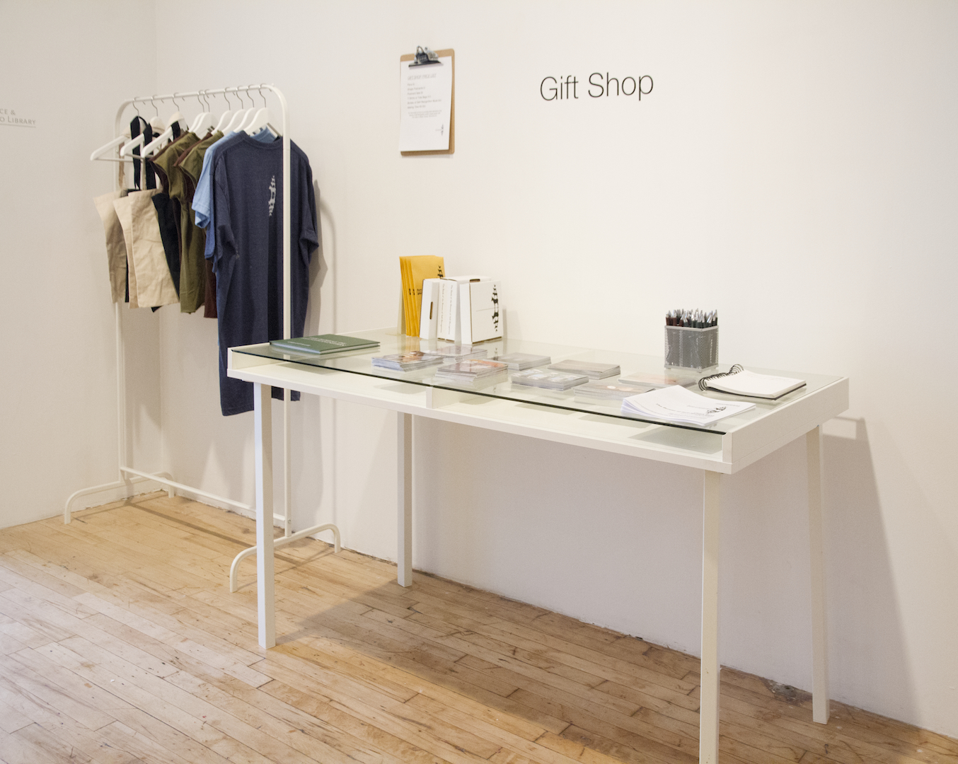 Installation View: Gift Shop