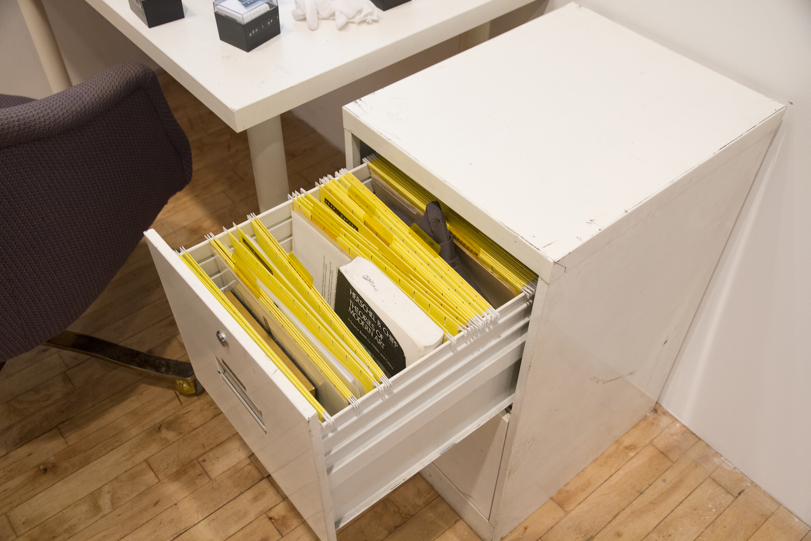 Installation View: Archive Files