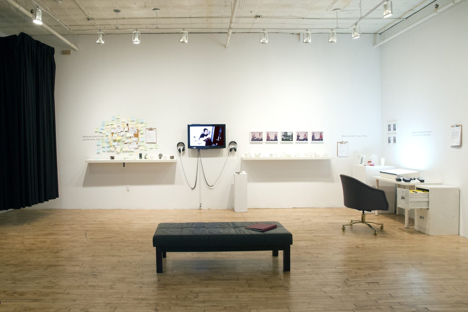Installation View: Front Angle