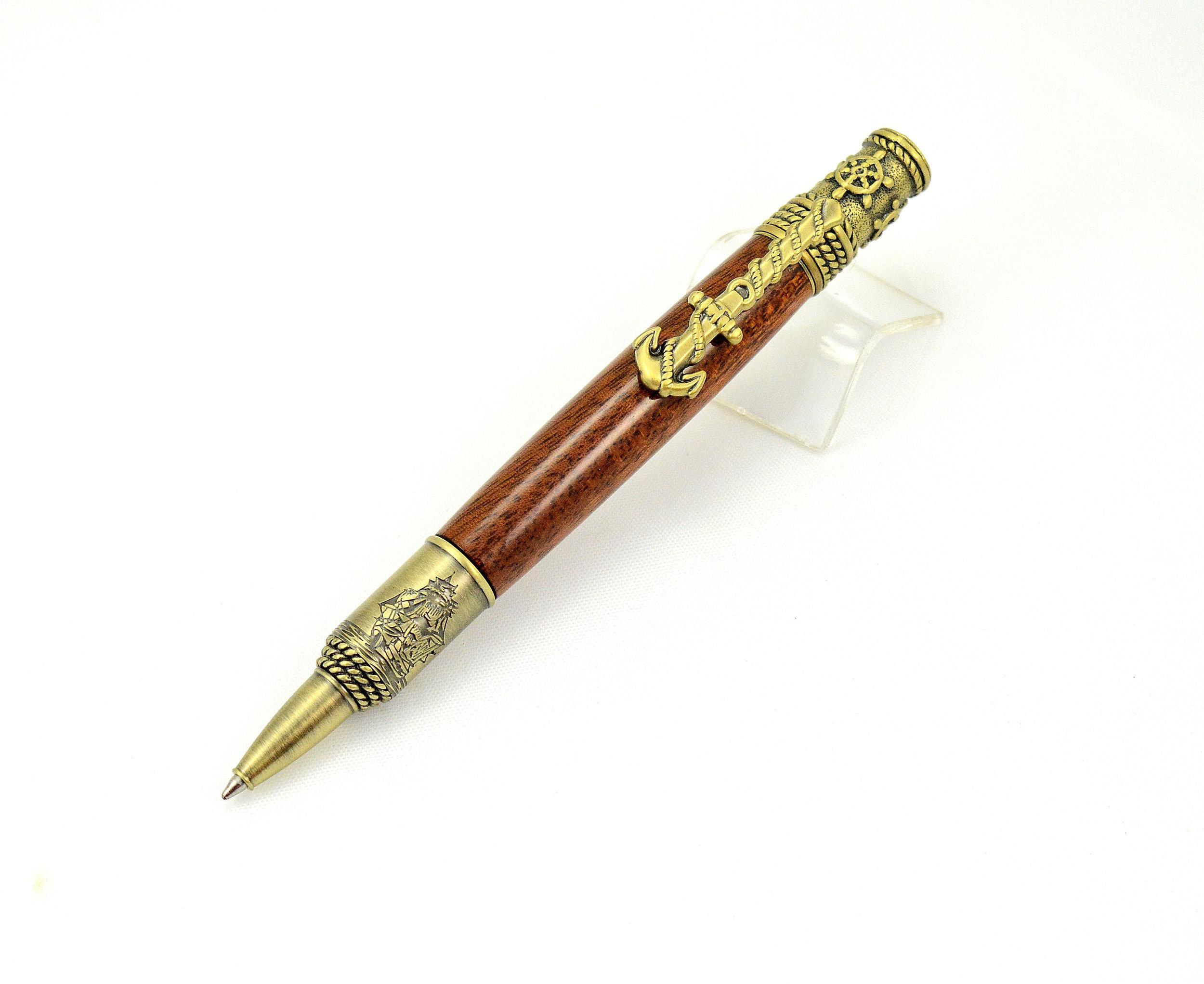 Nautical Pen by Oak Lane Woodworks