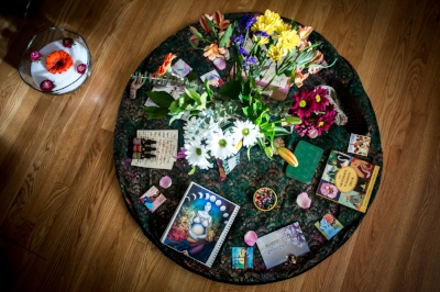 Pic Credit: Eden Photography of my Blessingway Altar