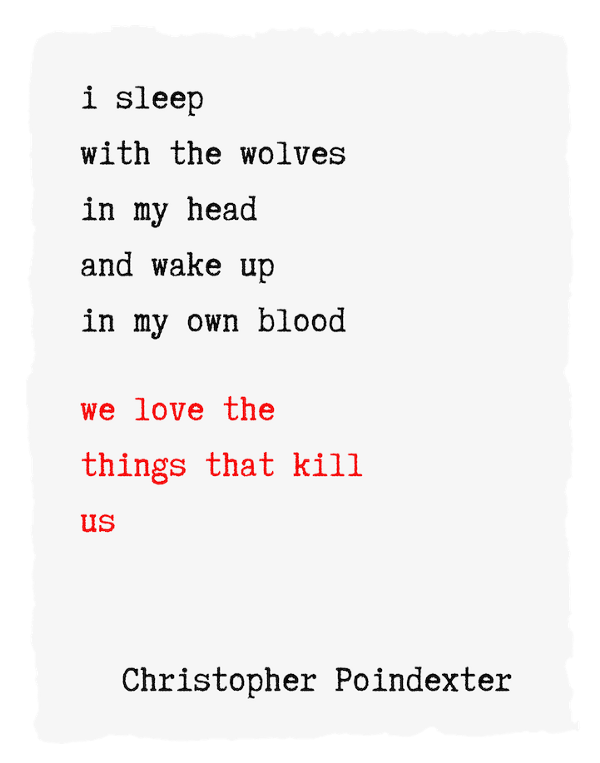 Find Christopher Poindexter here