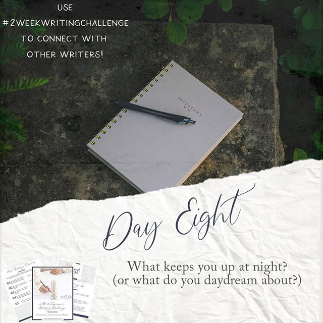 """Day 8 - another toughie for some but I truly believe in the power of getting down to the """"why"""" of some of our behaviors. Once I started exploring why I was having a hard time sleeping at night (specifically the topics keeping me awake at night), I found myself able to fall asleep faster since I'd explored my """"why."""" It's definitely not a cure for those sleepless nights, but it's worth a try, right? #2weekwritingchallenge⠀ • • • ⠀ My submission is on my website page!"""
