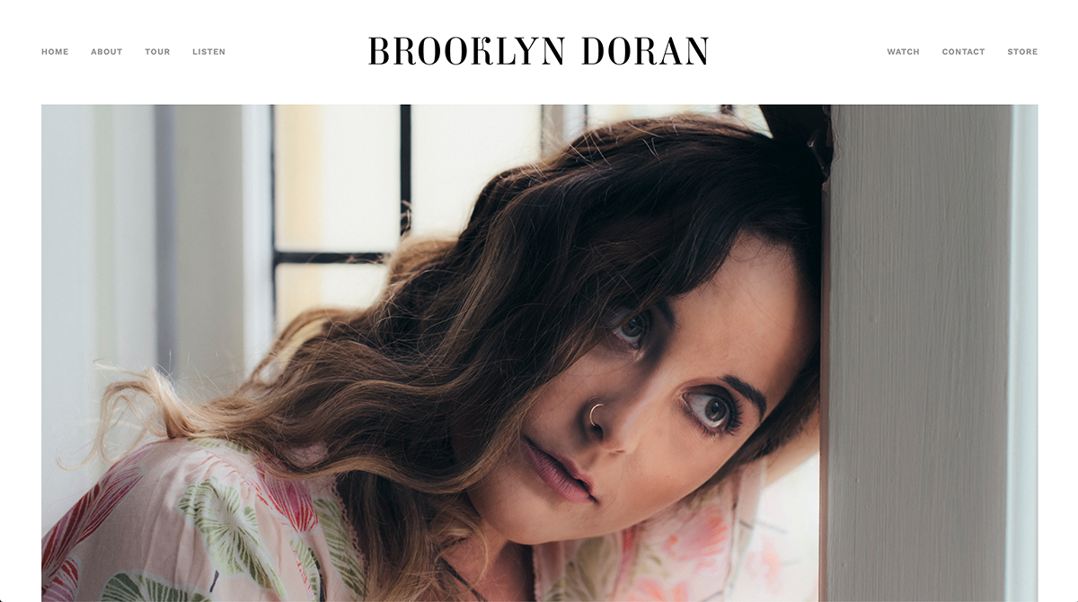 WEBSITE BUILD - BROOKLYN DORAN