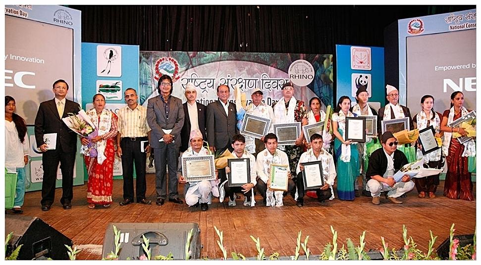 2013 Nepal Abraham Conservation Award Winners