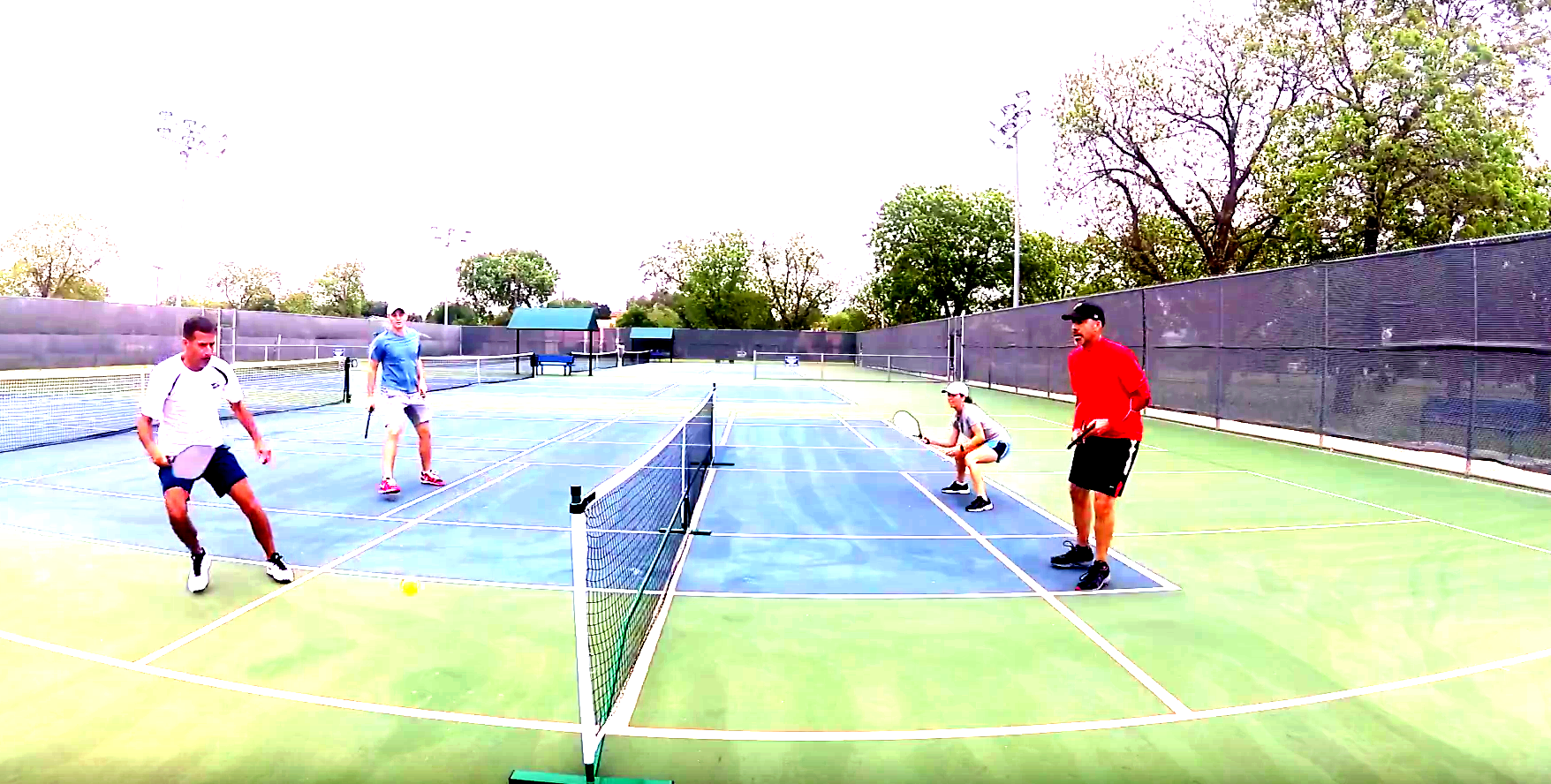 - Mixed Doubles Lessons
