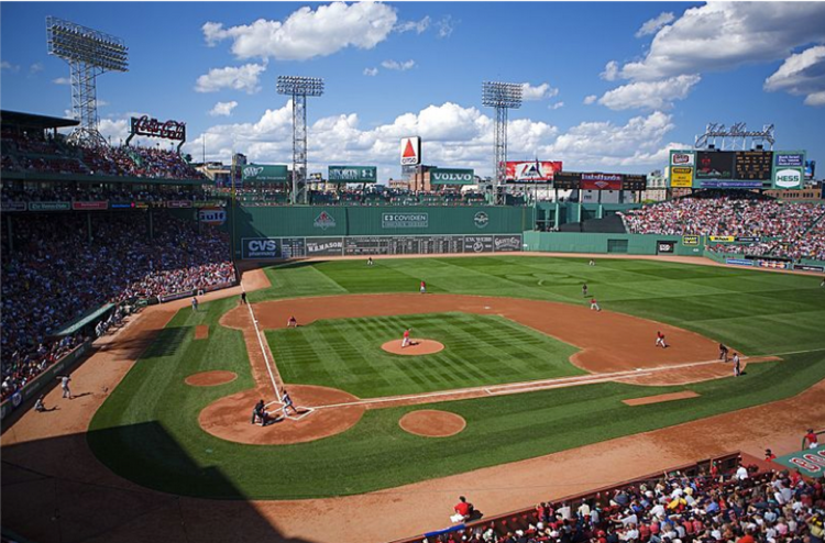 Head to historic Fenway Park to watch the Red Sox take on the Texas Rangers!