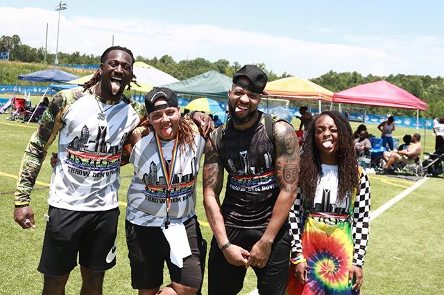 S/O @salute1st and @getlive35 for coming out and showing love to the First #ThrowDemBowsClt #Charity #Kickball game..... ____________________________________________  #DanzyBoiEvents #hiphop #video #pop #PhotoOfTheDay #producer #singer #songwriter #musician #Love #engineer #production #song #RealMusic #Talented#Vocalist #Singer #Writer #model #Artist #MusicLovers #Music #GreatMusic #GoodMusic #events #Photographer