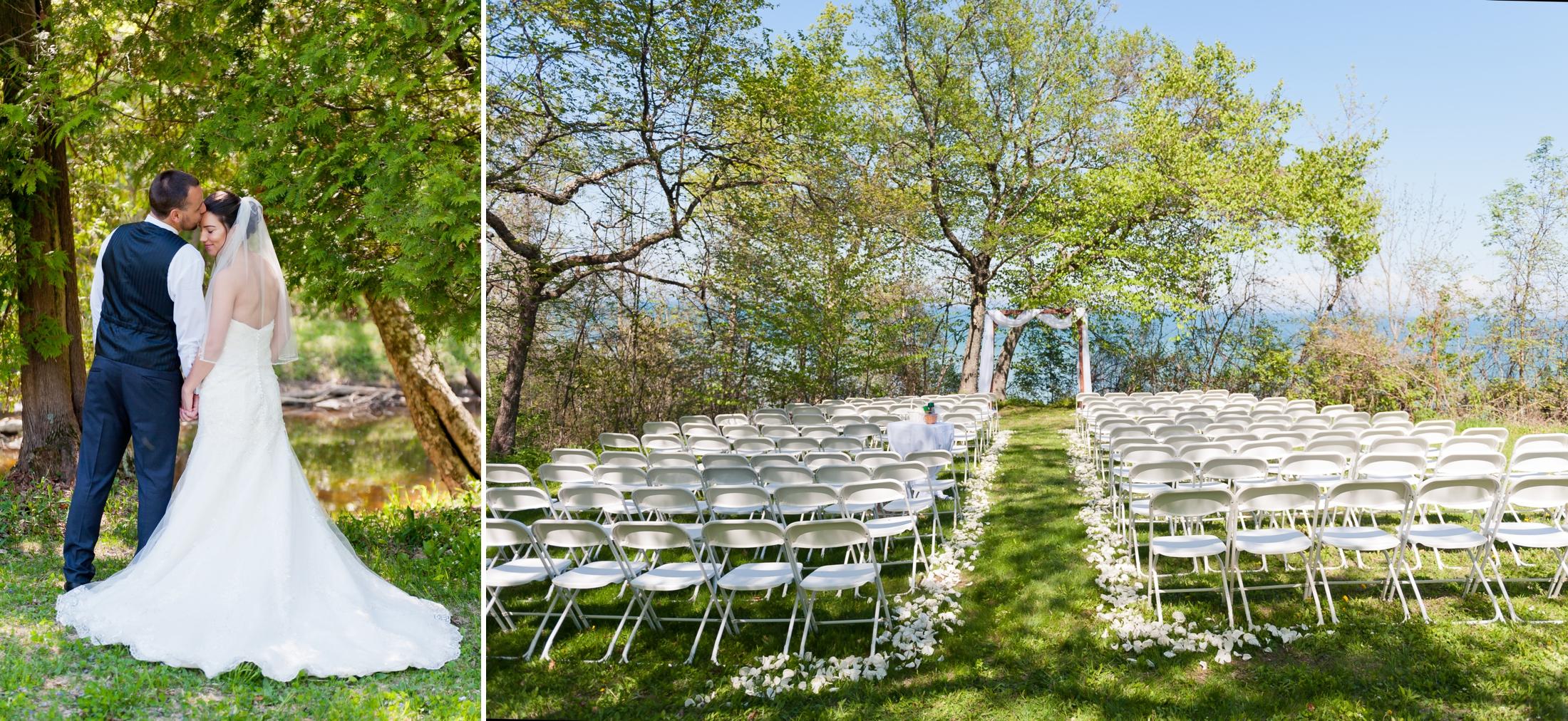 Best Green Bay Wedding Photographer, Silver Creek Park, Manitowoc Wisconsin