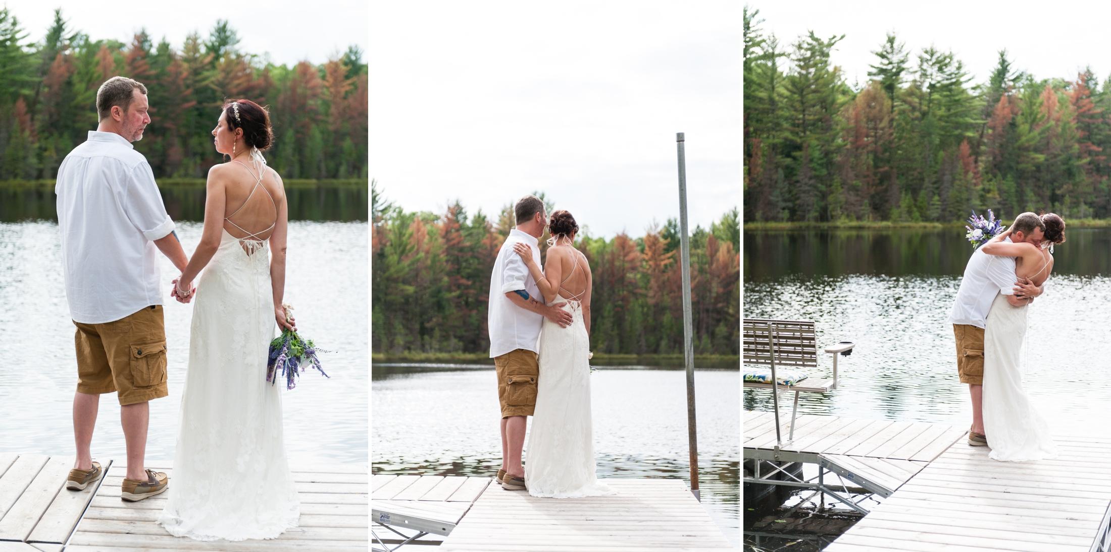 Jen and John's Northwoods Wisconsin Wedding, Wisconsin Wedding Photography