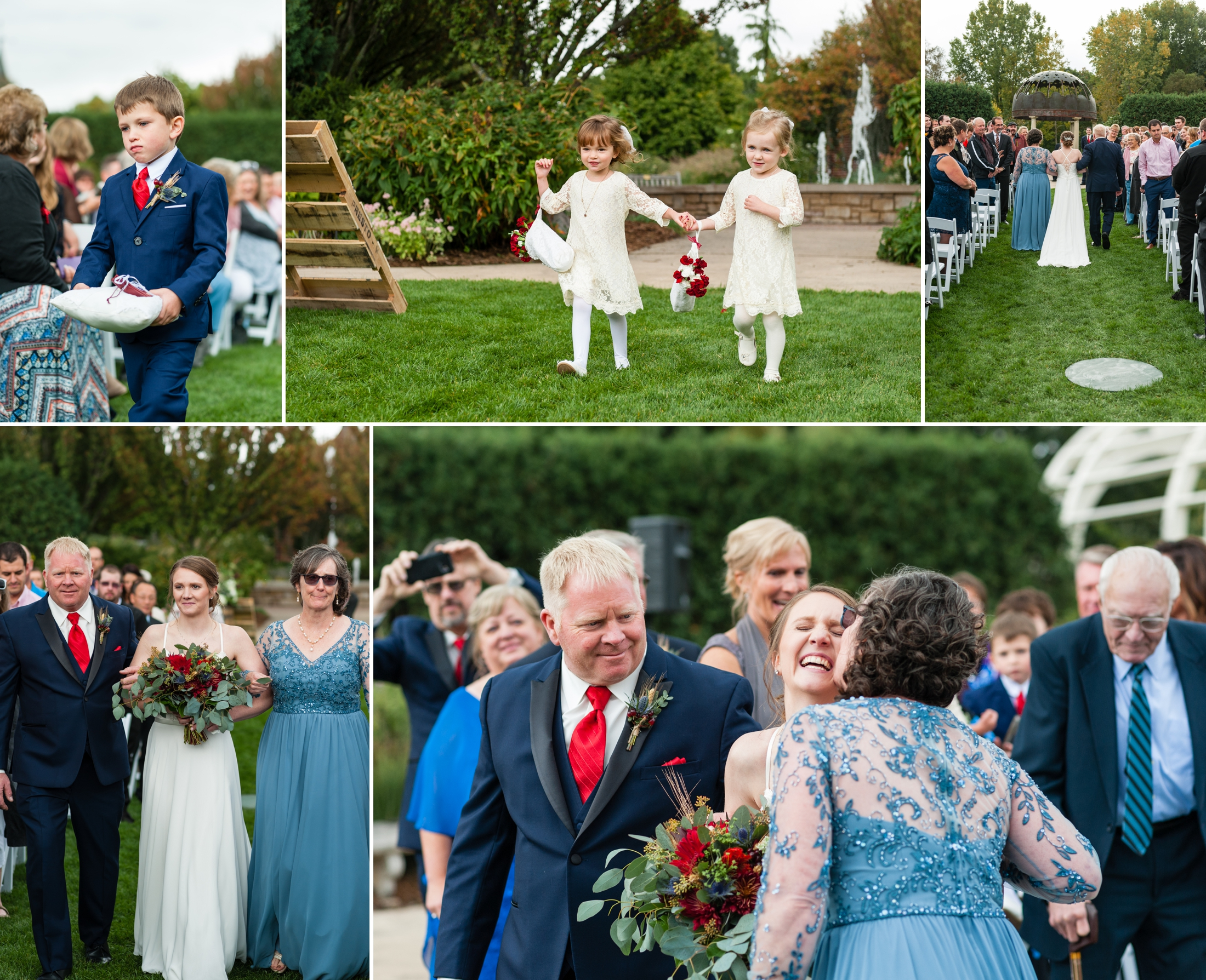 Wisconsin Wedding Photography, Green Bay Botanical Gardens