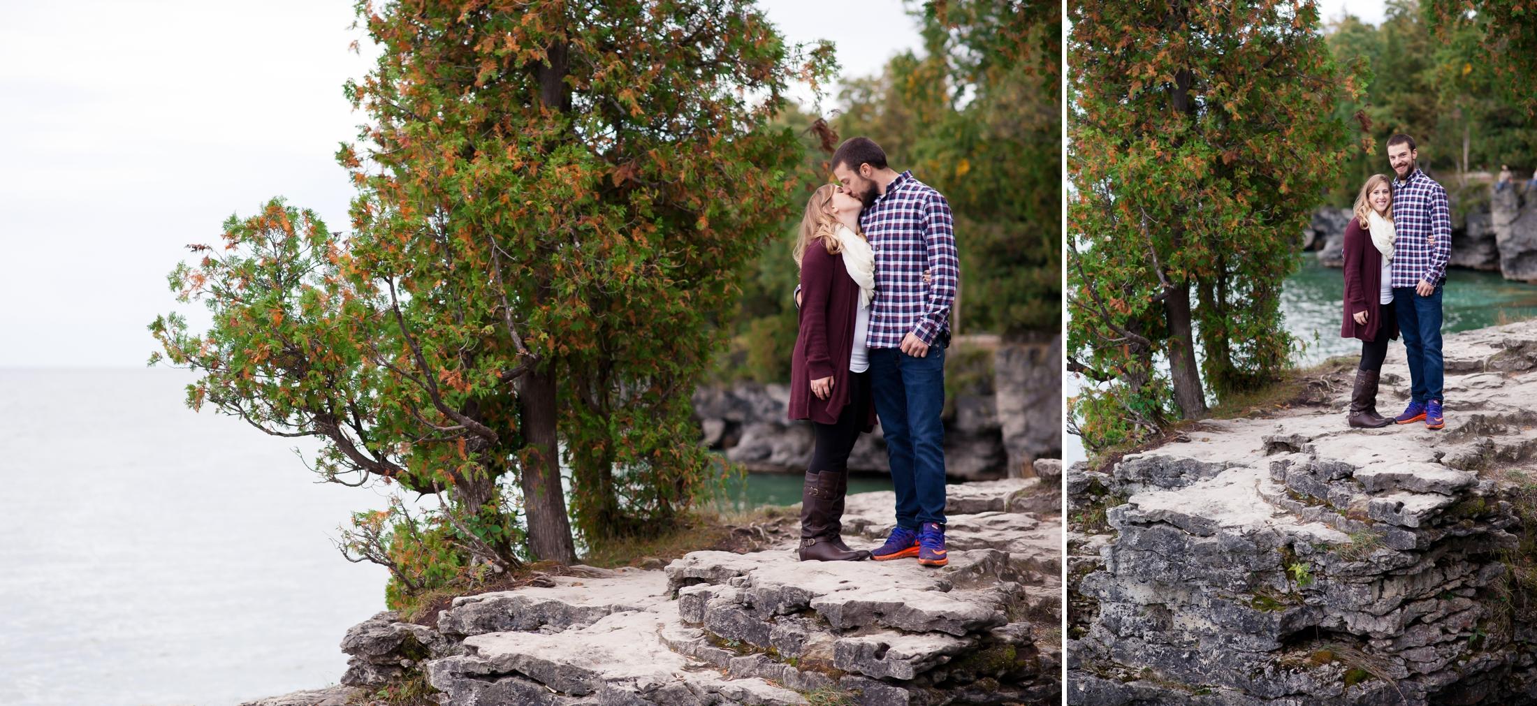 Door County Engagement Photoshoot | KLEM Studios