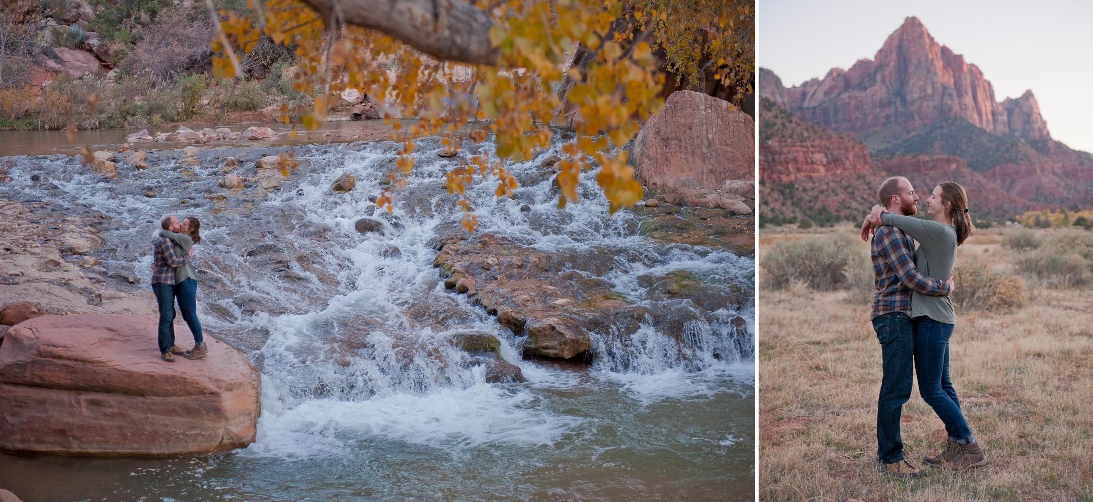 Zion National Park Couple's Session | KLEM Studios