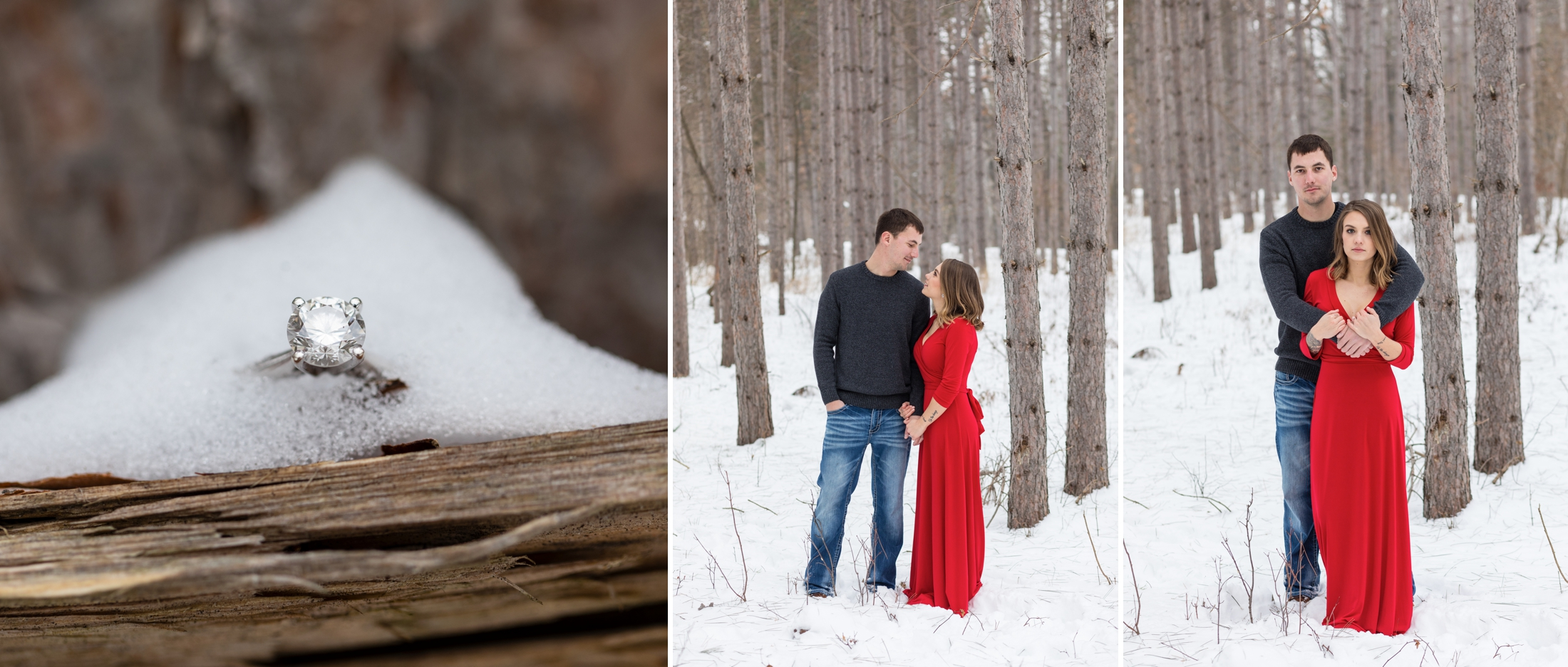 Wisconsin Winter Engagement Session | KLEM Studios Wedding, Boudoir & Branding Photography