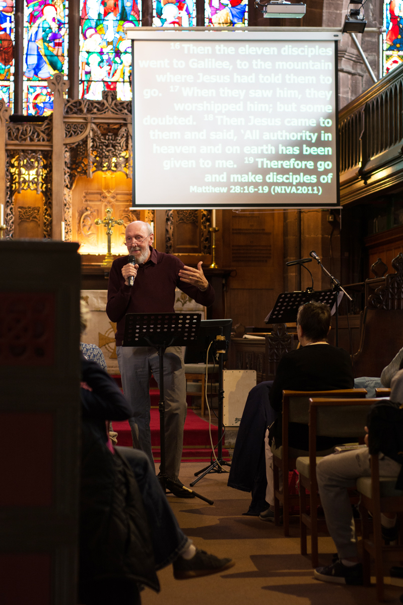 New Here? - St Peter's is an evangelical Anglican church sharing God's love at the heart of Chester city. We enjoy many different worship styles throughout the week, from our weekly worship services on a Sunday morning and Tuesday lunchtime, to 3rd Space wellbeing workshops, to the Isabella Theatre workshops, to Night Church's fortnightly sacred space, to enjoying fellowship at our 6 day a week cafe - phew! Although we do a lot in the week, at the heart of all we do, is the desire to give space for people to connect with Jesus.Learn More