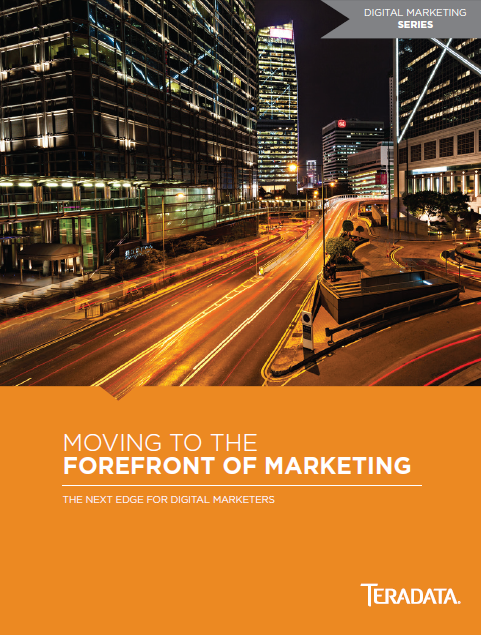 Teradata White Paper: Moving to the Forefront of Marketing