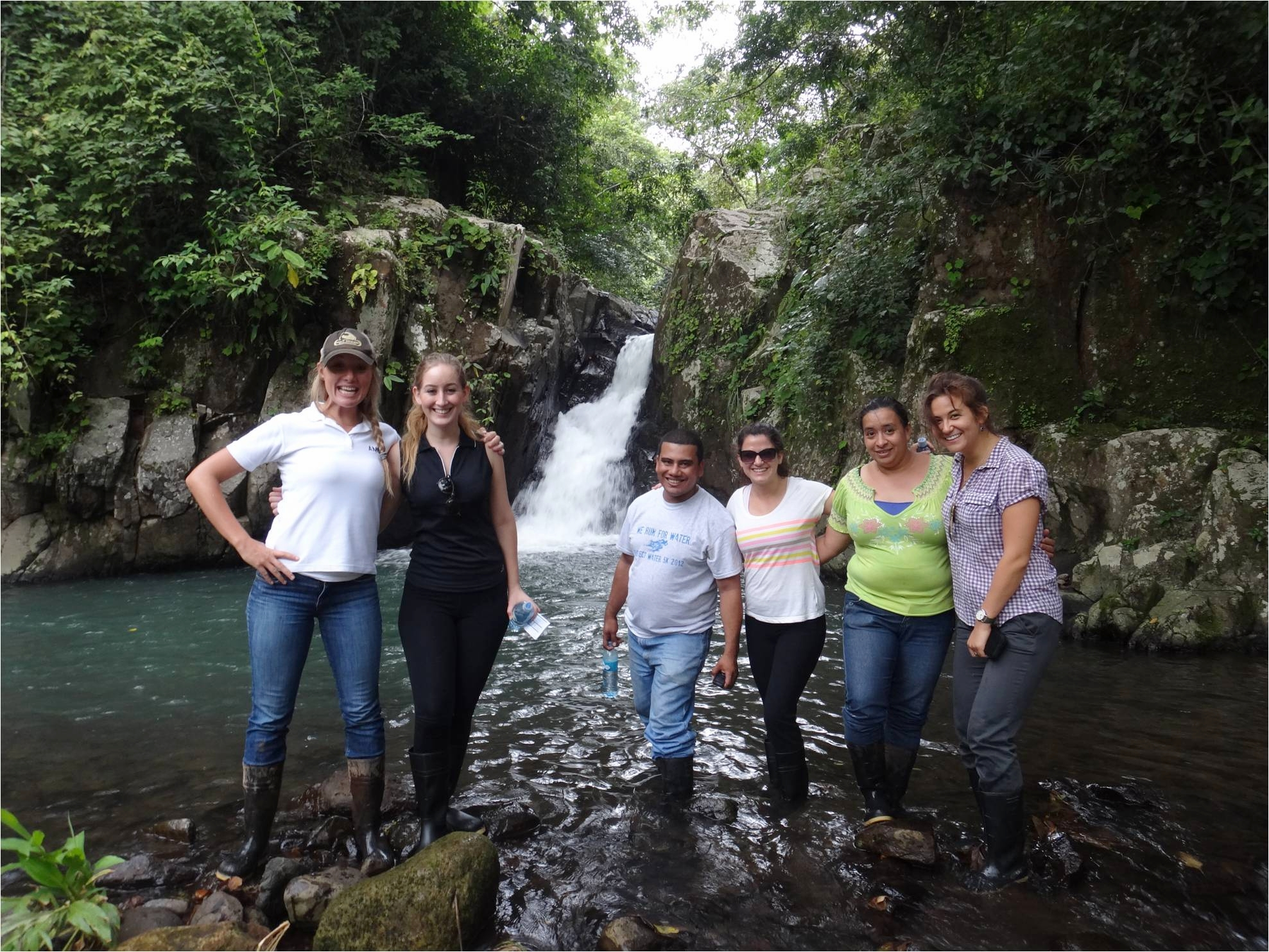 GlobeMed HQ staff visit partners in Latin America (2013).