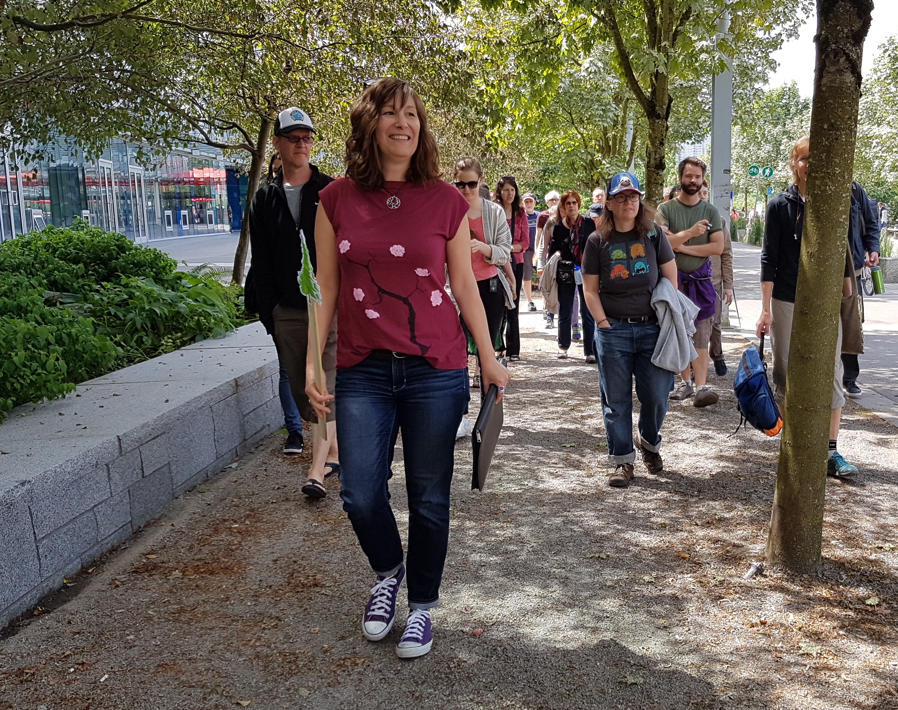 Walking Tour of Olympic Village in South East False Creek