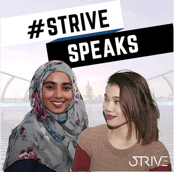 #StriveSpeaks
