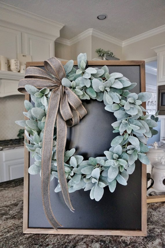 holiday decor guide - lamb's ear wreath.jpg