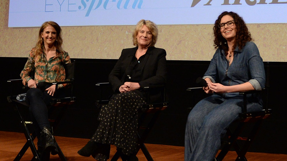 Top Female Showrunners Talk Industry Battles, Opening Doors for Others - March 26, 2018Producing for Netflix vs. the networks, the increasing clout of female showrunners, and how to fight for distinctive ideas to be heard were among the topics at a panel of women showrunners at the 2018 Writers Guild Festival Sunday.