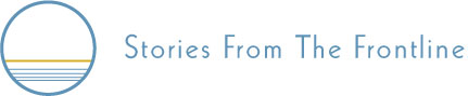 Stories from the Frontline logo.